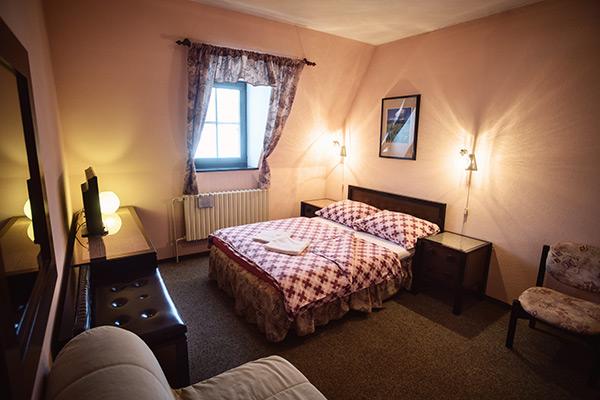 ubytování v pokojích standard